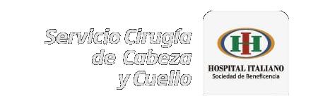 Servicio Cirugía de Cabeza y Cuello Hospital Italiano